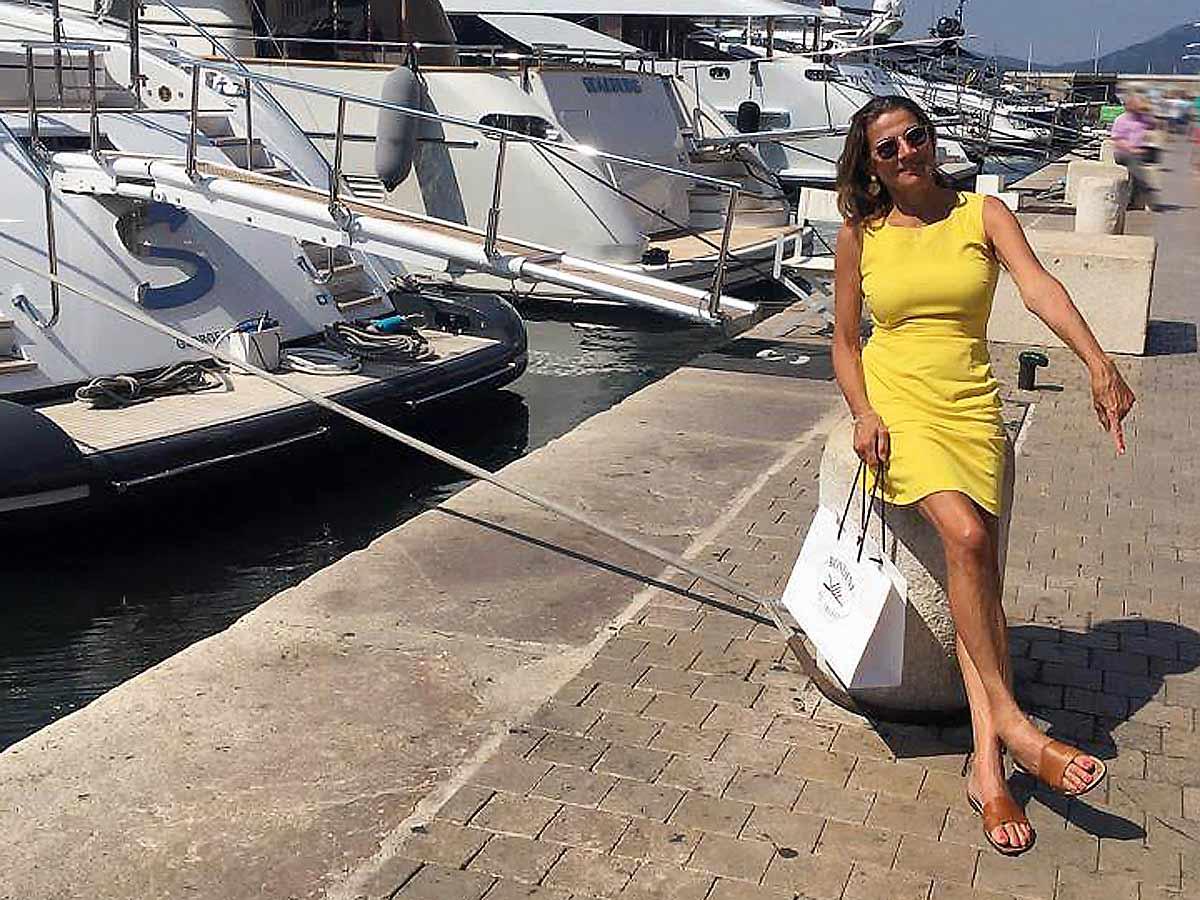 Rondini-Lieblingssandalen aus St.Tropez